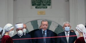 Erdoğan Başçarşı Camii'nin açılışını yaptı