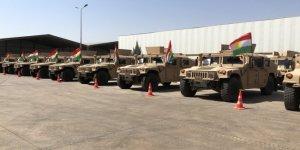 Koalisyondan Peşmerge Güçlerine 150 araçlık askeri yardım