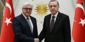 Cumhurbaşkanı Erdoğan, Almanya Cumhurbaşkanı Steinmeier ile görüştü