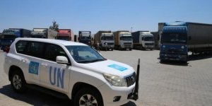 BM'den İdlib'e 63 tır insani yardım