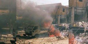 Afrin'de şiddetli patlama
